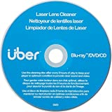 Uber Laser Lens Cleaner, Better Performance for Blu Ray, DVD, CD, PS3, PS4, XBox, Laptop, Desktop, 27311