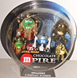 Star Wars Chocolate mPIRE 'C3PO', 'R2D2' & 'Amadala' M&M Action Figures