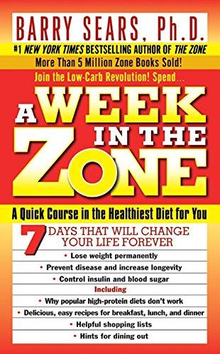 Week Zone Ph D Barry Sears