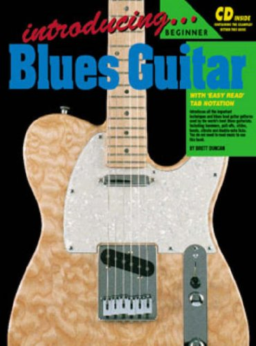Introducing Guitar Book - CP72629 - Introducing Blues Guitar (Learn to Play the Guitar)