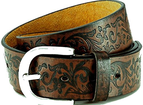 Collection Leather Belt (akzendo-collection Women's Leather Belt With Pu Coating XXL 46-48