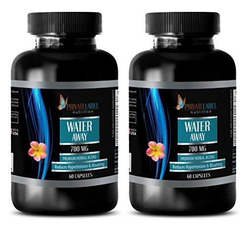 Antioxidant Extreme - Water Away - Premium Herbal Blend - Green Tea Powder - 2 Bottles (120 Capsules)
