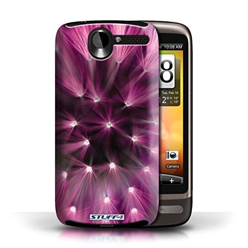 Etui / Coque pour HTC Desire G7 / Rose conception / Collection de Couleur/Lumière Fleur