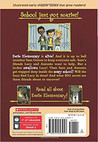 The Locker Ate Lucy!: A Branches Book (Eerie Elementary #2): Jack ...