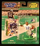 RICKY WATTERS / SEATTLE SEAHAWKS 1999-2000 NFL Starting Lineup Action Figure & Exclusive NFL Collector Trading Card