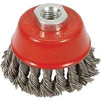 Silverline 868901 - Cepillo de vaso de acero