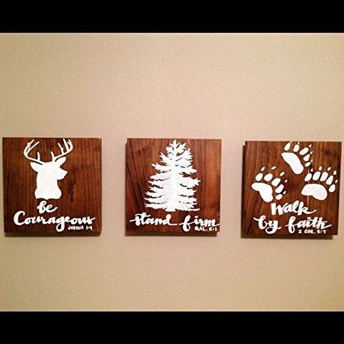 Wooden Bible Verse Wall Art