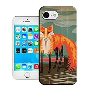 BY SHICASE Collage Style Fox Picture Of Attractive Design Tpu Cases For Iphone 5C