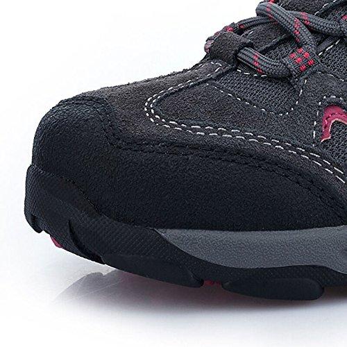 La Première Chaussure De Randonnée Pour Femmes En Plein Air Antidérapant Respirant Sport Trail Trekking Chaussures 8,5 Nous Gris Foncé