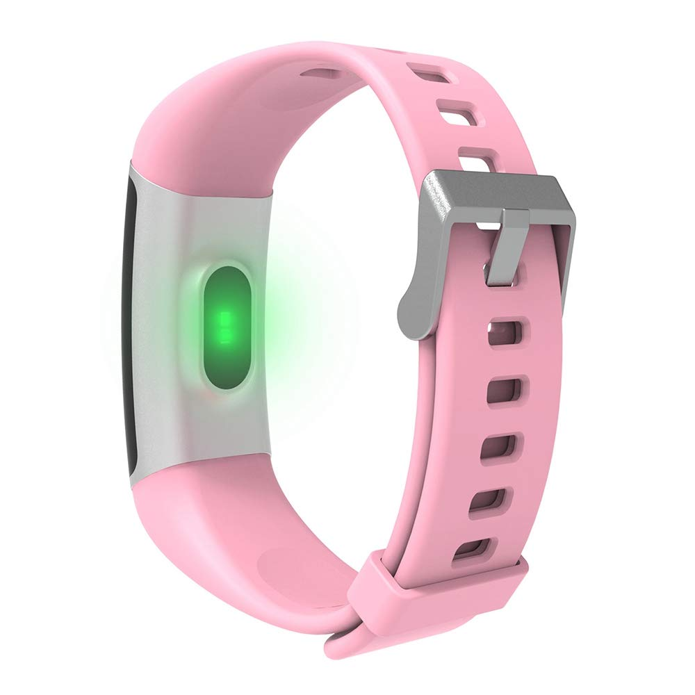 YoYoFit Light Kid Fitness Tracker HR, Heart Rate Monitor Watch with Pedometer Step Counter, Waterproof Smart Fitness Watch for Kids Women Men by YoYoFit (Image #2)