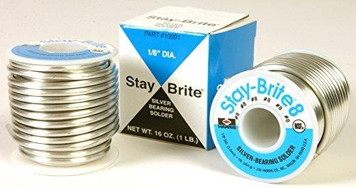 J W Harris Company 10009 Stay-Brite 8 Solder 1/8 X 1Lb