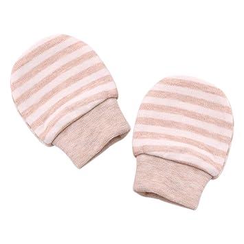 Xuxuou 1 Paires Moufles de Protection Anti-Griffures,Moufles naissance en  coton biologique, 5eebbaf5796