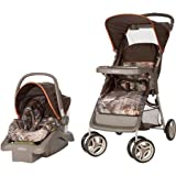 Cosco Lightest Car Seat Carrier Strollers Lift and Stroll Travel System, Realtree/orange For Sale