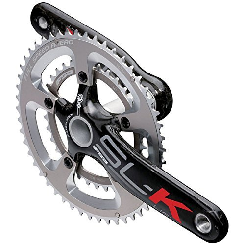 FSA SL-K Light MegaExo Triple Road Bicycle Crankset - CK-8681CCC (30/39/52T - 175mm ME (52t Triple Crankset)