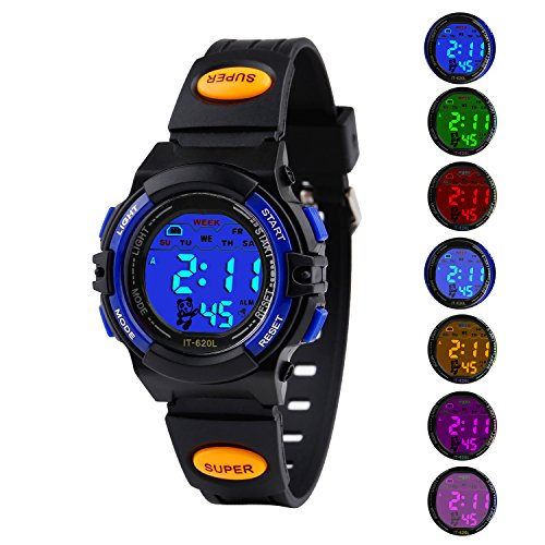Kids Sport Digital Watch Boys Outdoor Waterproof Watches Girls Electronic Kid Watch