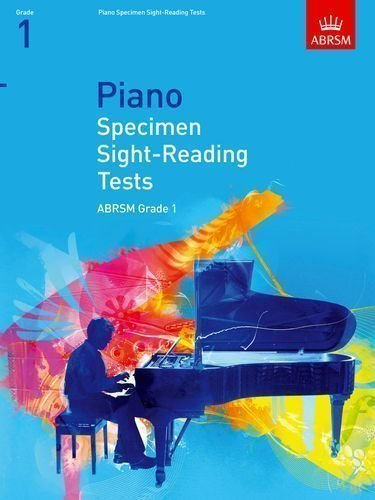 Piano Specimen Sight-Reading Tests, Grade 1 (ABRSM Sight-reading) by ABRSM (2008) ()