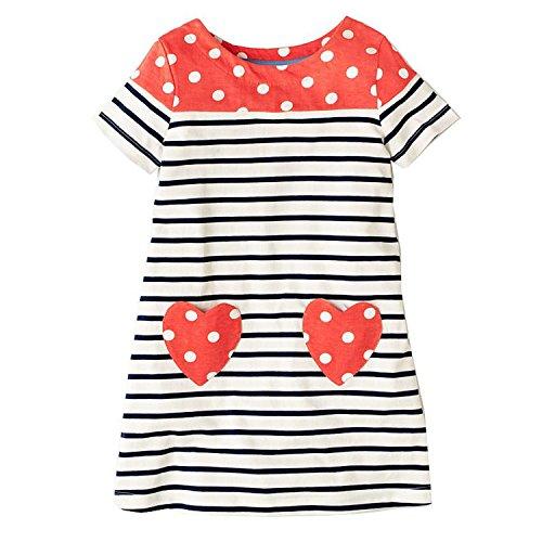 Princess Dress Toddler Girls Summer Clothing 2018 Brand Children Unicorn Costume for Girls Dresses A Line Vestidos,96,6