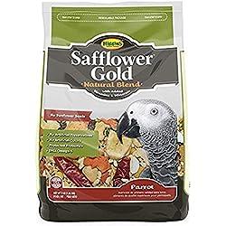 Higgins Safflower Gold Natural Food Mix for Parrots 3lbs