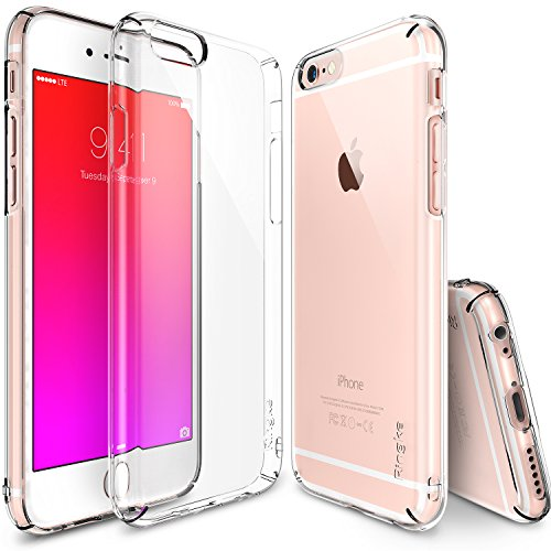 Ringke Slim Compatible with iPhone 6S Plus Case Full Coverage on All 4-Sides & Back Super Lightweight All Around Protection for iPhone 6S Plus - Clear