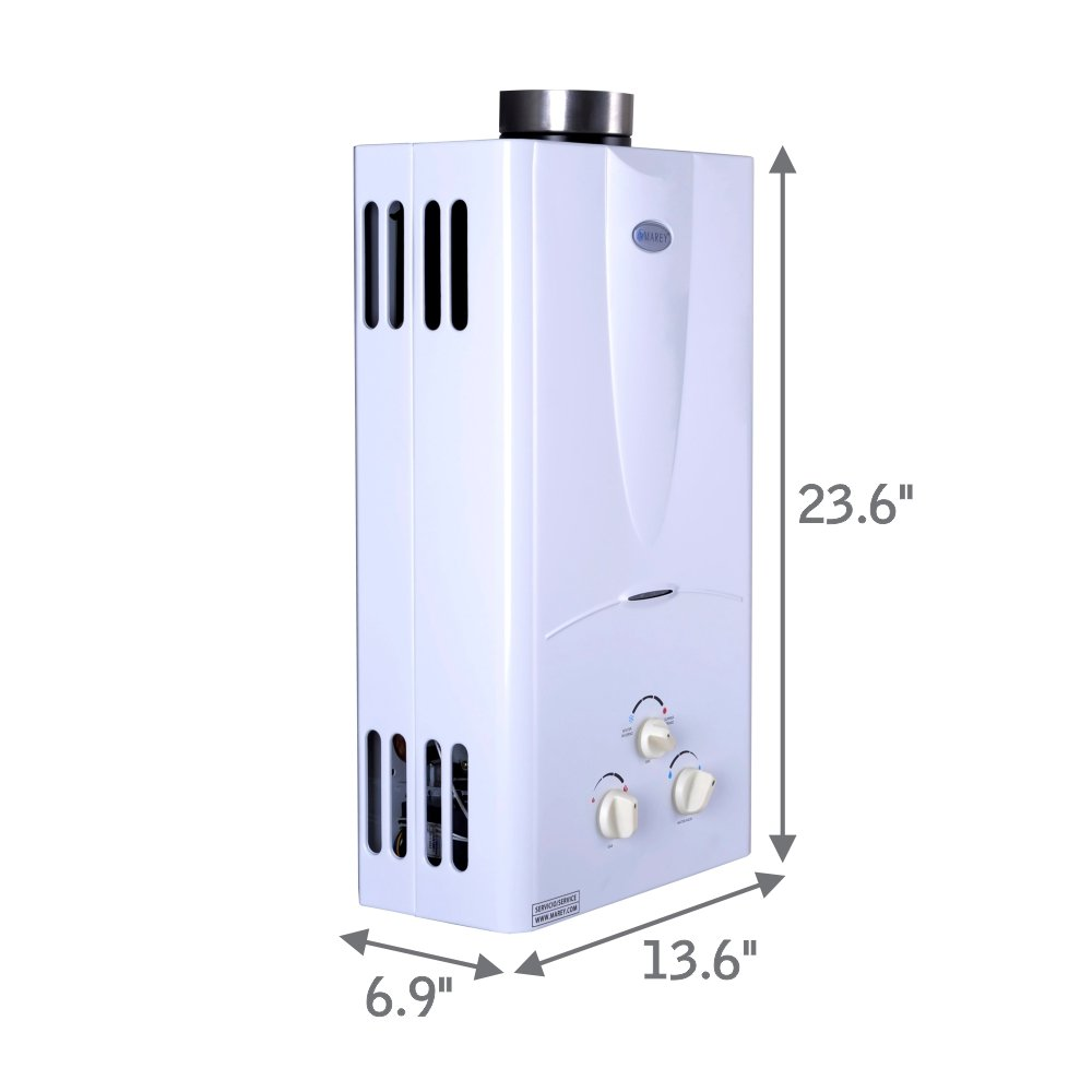 Marey Power Gas 10L 3.1 GPM Propane Gas Tankless Water Heater by MAREY (Image #3)