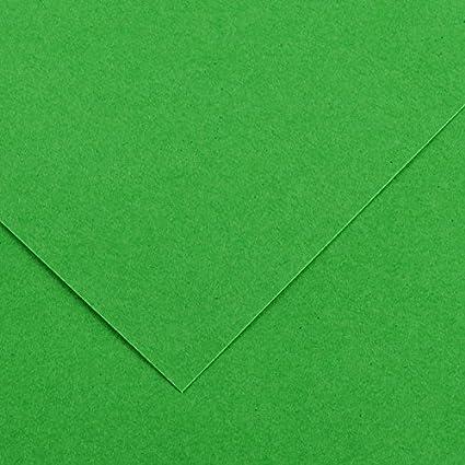 Canson Iris - Cartulina, 50 Unidades, Color Verde Billar: Amazon.es: Oficina y papelería