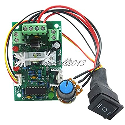DC Motor Speed Controller 10-36V Reversible PWM Control Forward//Reverse Switch