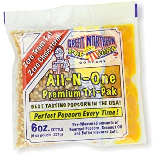 4105 Great Northern Popcorn Premium 6 Ounce (Pack of 24) Popcorn Portion Packs