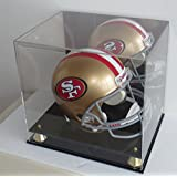Football Full Size Pro Helmet Display Case with Mirrored Back AC-MH15M
