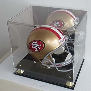 Amazon.com : Football Full Size Pro Helmet Display Case ...