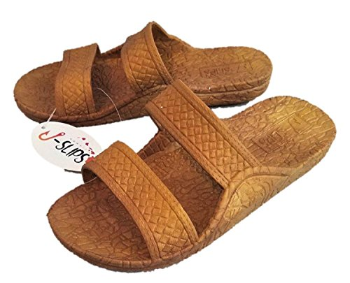J-Slips Hawaiian Jesus Sandals in 4 Cool Colors & 20 US Sizes! Toddler's, Kid's, Women's, Big Men's (Color: Sand, Size: (06) Little Kid ()