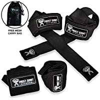 Frost Giant Fitness: Wrist Wraps Set w/Carry Bag | Heavy...
