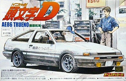 アオシマ 1/32 トヨタ スプリンター AE86 トレノ 前期型 GT APEX 藤原拓海 頭文字Dの商品画像