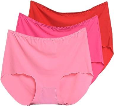 KINDOYO Lencería Ropa Interior Cintura Mid - Encaje Hipster Cómodo Panty Embarazada Bragas Mujer Elasticidad Lencería: Amazon.es: Ropa y accesorios