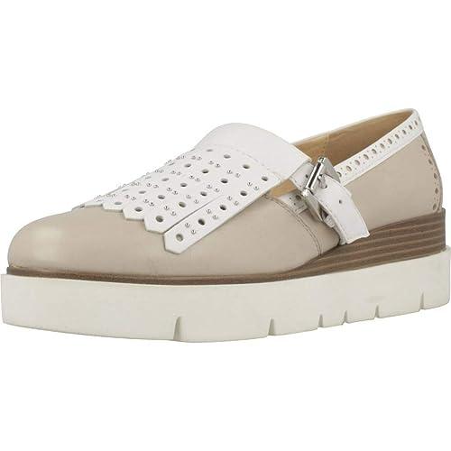 Geox D Kattilou E, Mocasines para Mujer: Amazon.es: Zapatos ...