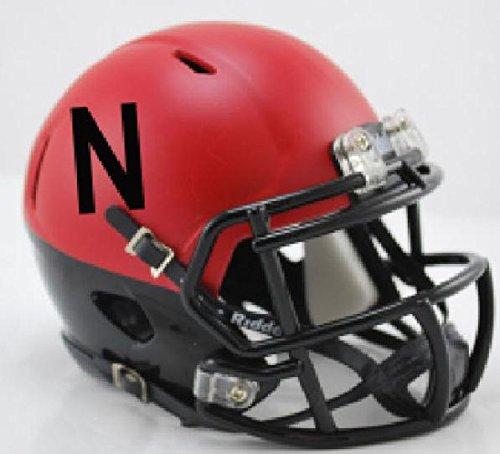 Nebraska Cornhuskers Speed Mini Helmet - Alt (Nebraska Cornhuskers Helmet)