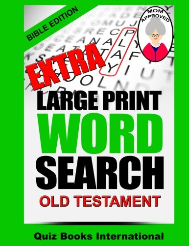 Extra Large Print Search Bible product image