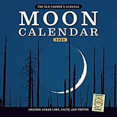 This fascinating calendar features striking scenes of the Moon in the landscape, accompanied by fun facts and lore about Earth's natural satellite. Added bonus: best days for fishing and other activities based on the Moon.