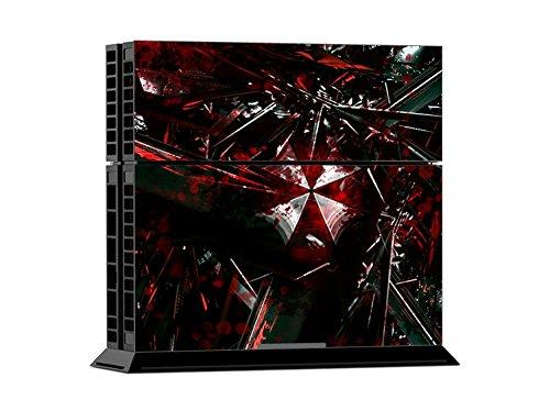 Price comparison product image ModFreakz® Console / Controller Vinyl Skin Set - Red White Umbrella Shattered for PS4 Original