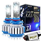 RCP 9006 HB4 LED Headlight CREE Bulbs Conversion Kits with Canbus, 70W 7200Lm 6000K White, 2 Years Warranty