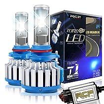 RCP - 9005(HB3) - LED Headlight CREE Bulbs Conversion Kits + Canbus (1 Pair)-2 Year Warranty