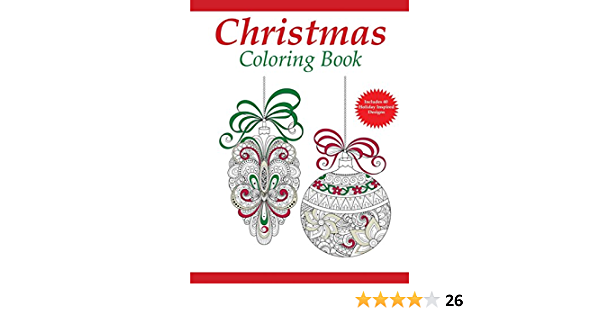 - Amazon.com: Christmas Coloring Book: A Holiday Coloring Book For Adults  (Adult Coloring Books) (Volume 1) (9781942268215): Coloring Pages For  Adults, Dylanna Press: Books