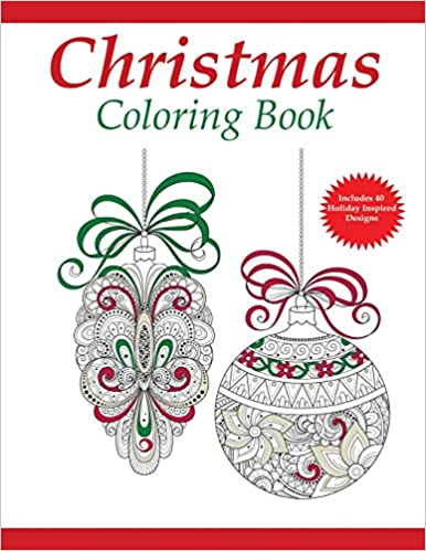 amazoncom christmas coloring book a holiday coloring book for adults adult coloring books volume 1 9781942268215 coloring pages for adults