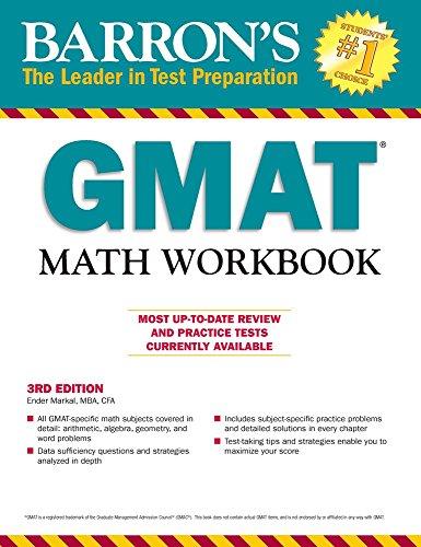 GMAT Math Workbook, 3rd Edition