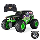 Monster Jam Official Grave Digger Remote Control Monster Truck, 1:15 Scale, 2.4GHz