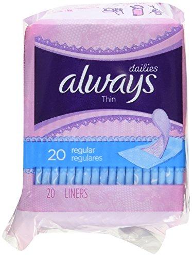 always regular panty liners - 9