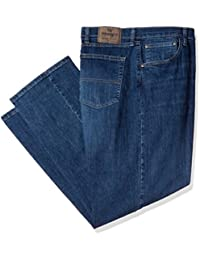 Authentics Men's Big and Tall Classic Relaxed Fit Jean