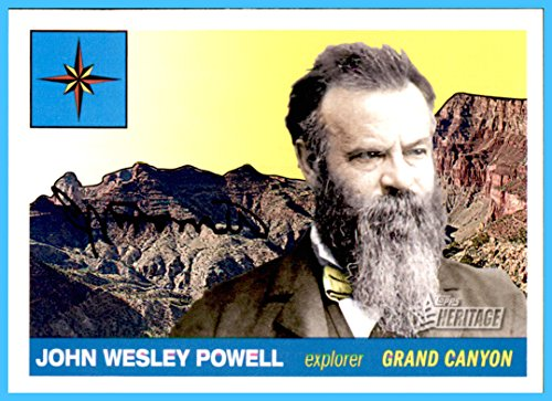 2009 Topps American Heritage #17 John Wesley Powell Explorer Green and Colorado Rivers