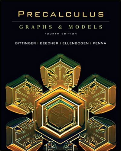Graphs edition pdf precalculus and 5th models