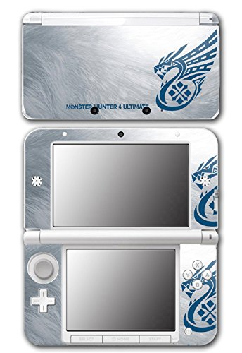 Monster Hunter 4 Ultimate Metallic Special Edition Video Game Vinyl Decal Skin Sticker Cover for Original Nintendo 3DS XL System (Nintendo 3ds Xl Monster Hunter 4 Ultimate Edition)