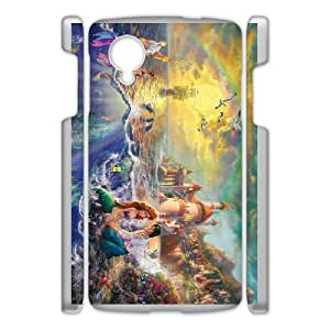 Google Nexus 5 Phone Case Cover The Little Mermaid ( by one free one ) T64923